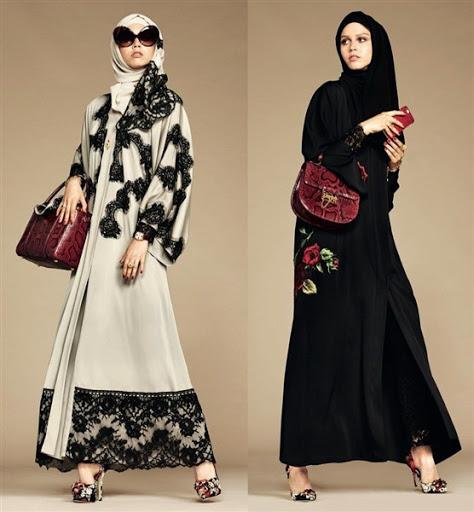 dress muslimah modern terbaru 2017/2018