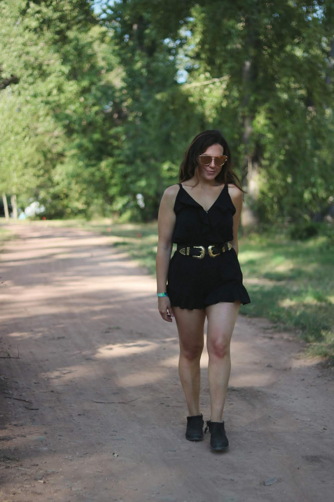 Country music festival outfit aleesha harris merritt rockin river fest