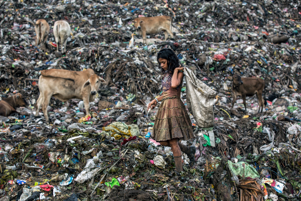 hindistan çöp sorunu ile ilgili görsel sonucu