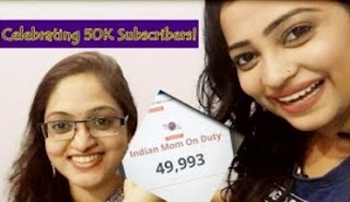 Celebrating 50K Subscribers! VLOG – One of my subscriber came to meet me from Pune