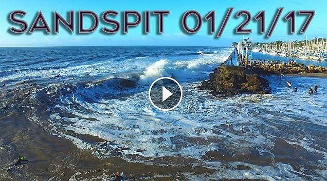 Stormy Sandspit 01 21 17