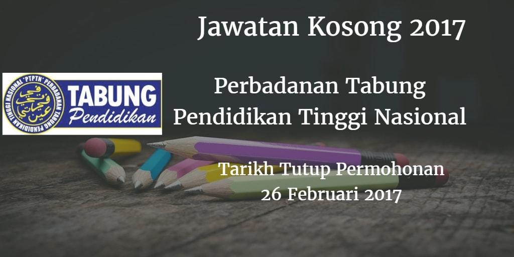 Jawatan Kosong PTPTN 26 Februari 2017