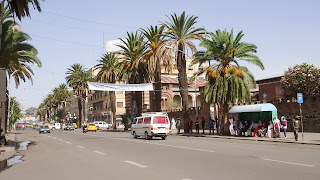 The mainstreet in Asmara