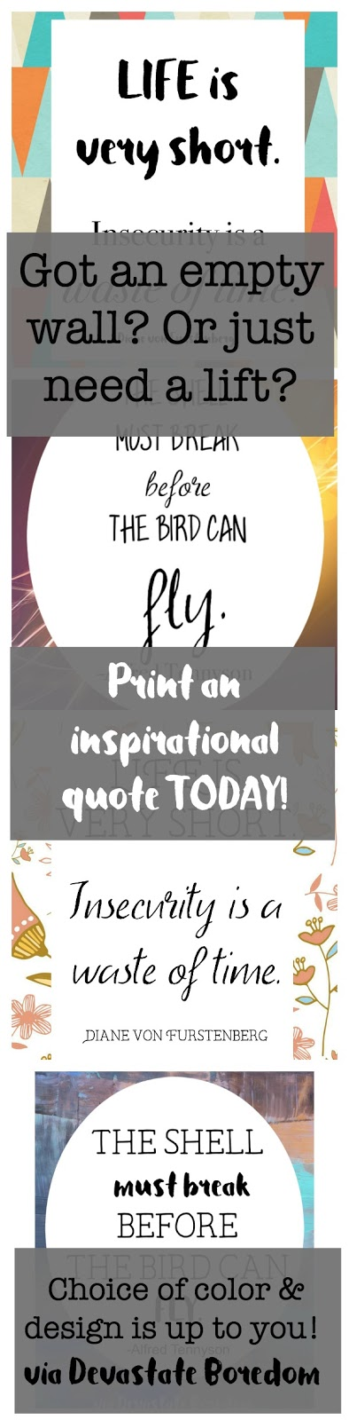 Fancy Inspirational motivational encouraging quotes a free gift for you Wall art for