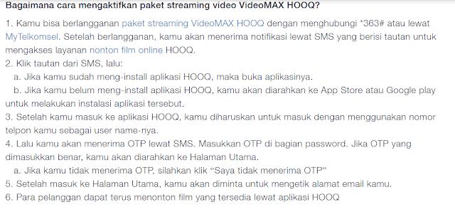 Bagaimana cara menggunakan paket streaming video VideoMAX Viu?