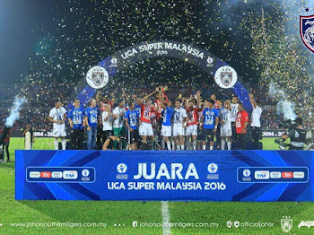 PENGUASAAN MUTLAK JDT | HAT-TRICK JUARA Liga Super Malaysia