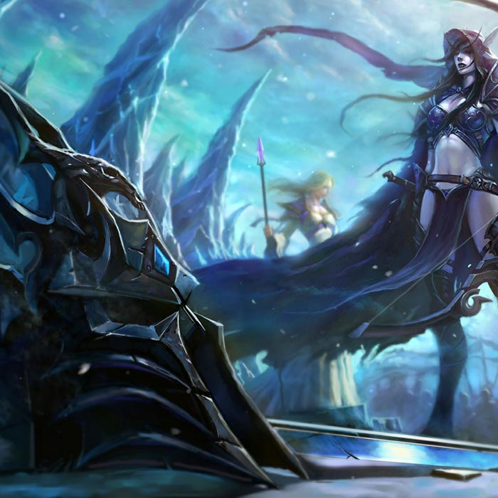 Fall Of The Lich King Wallpaper Engine Download Wallpaper