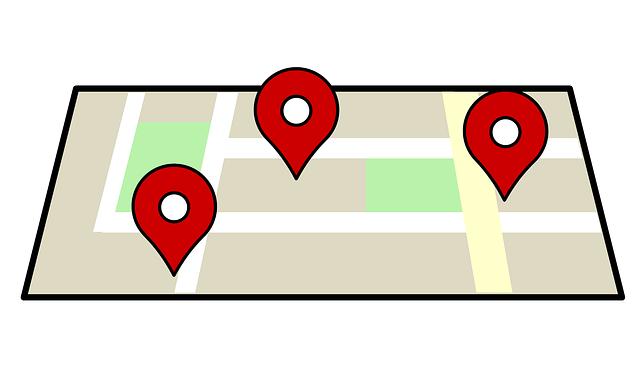 Google Maps, Navigasi, Alamat, Pencarian