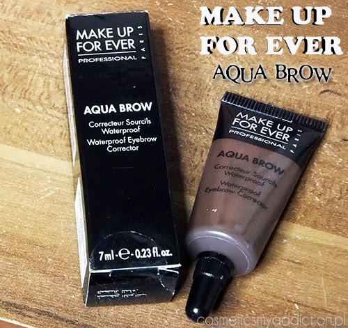 MAKE UP FOR EVER | Aqua Brow, wodoodporny cień do brwi w kremie