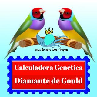 calculadora genetica del Diamante de Gould, diamante de gould
