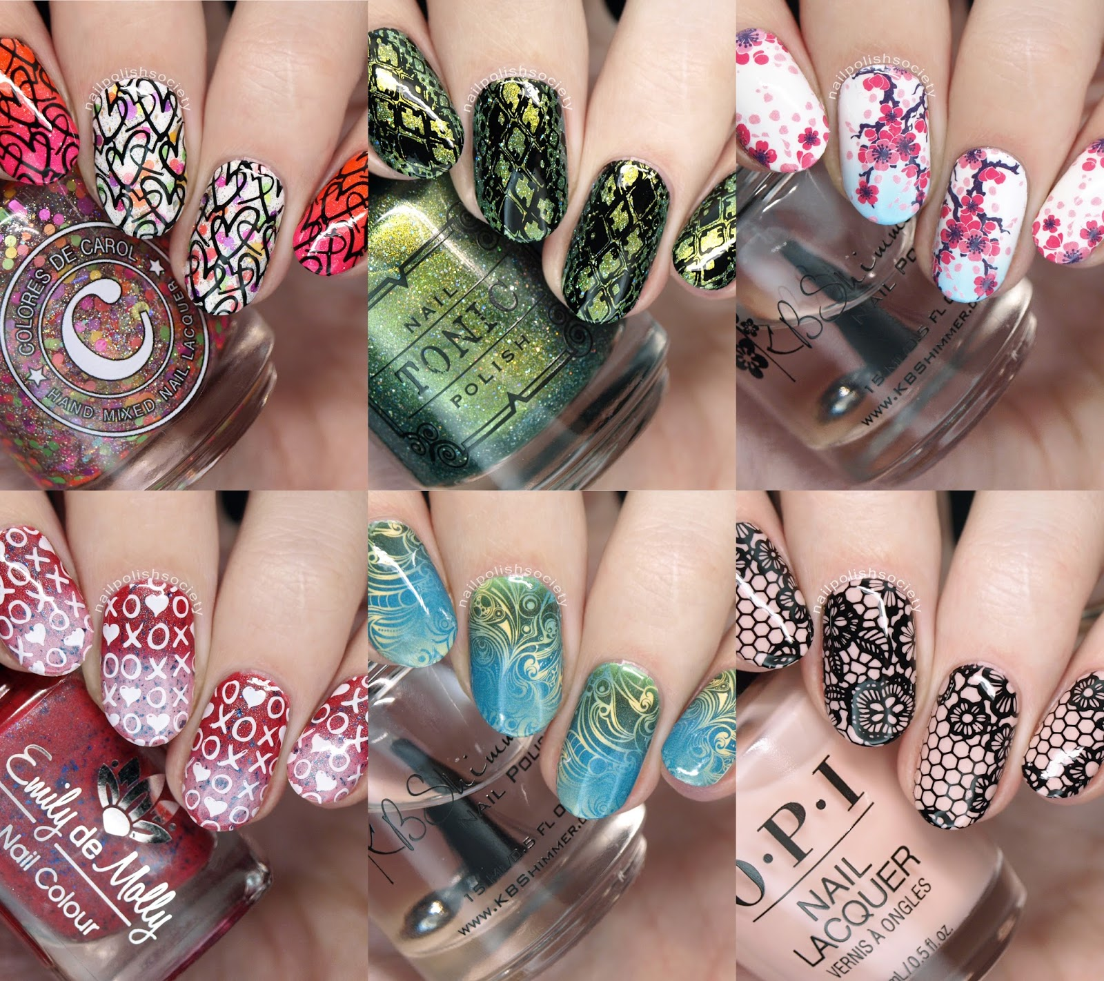 What S Up Nails Stamping Plates And Water Decals Review