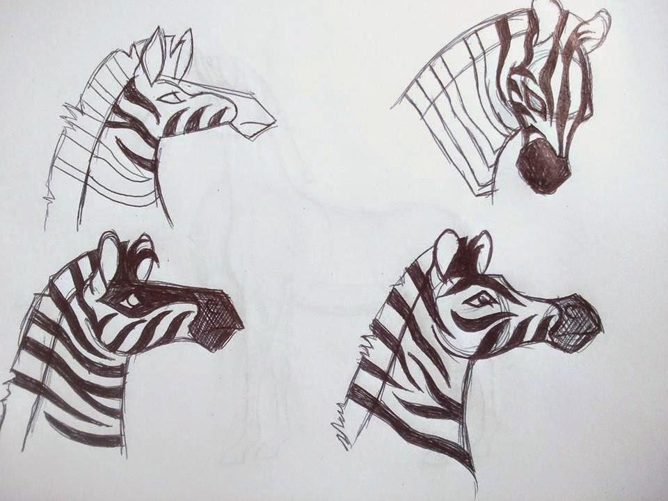 Imogen Serret: Initial designs- zebra