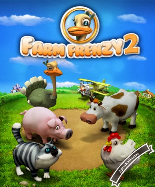 Farm Frenzy 2 Cover, Poster
