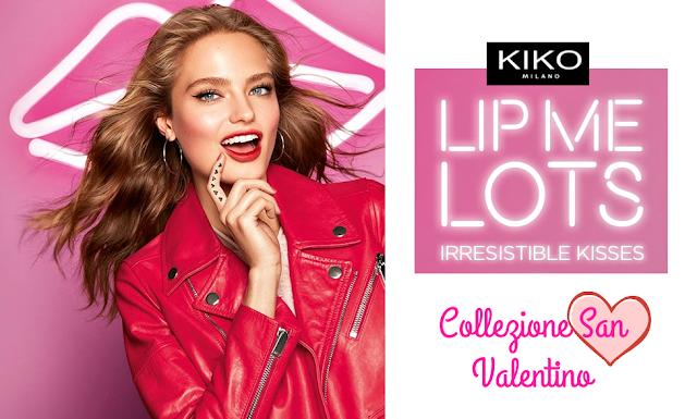 collezione kiko san valentino