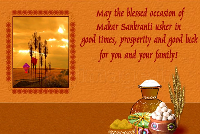 Happy Makar Sankranti Wishes in English