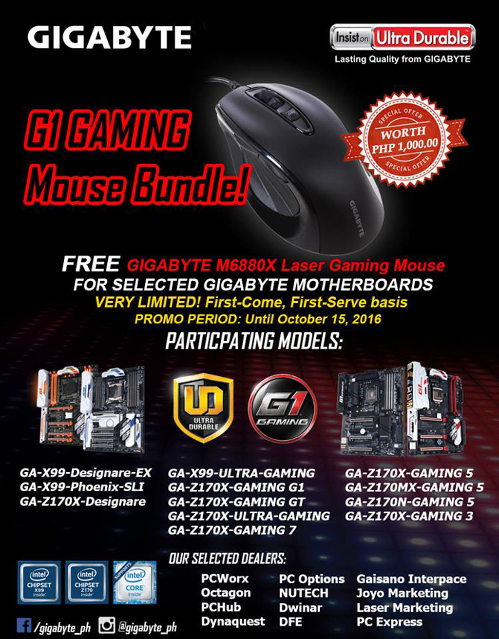 GIGABYTE G1 Mouse Bundle