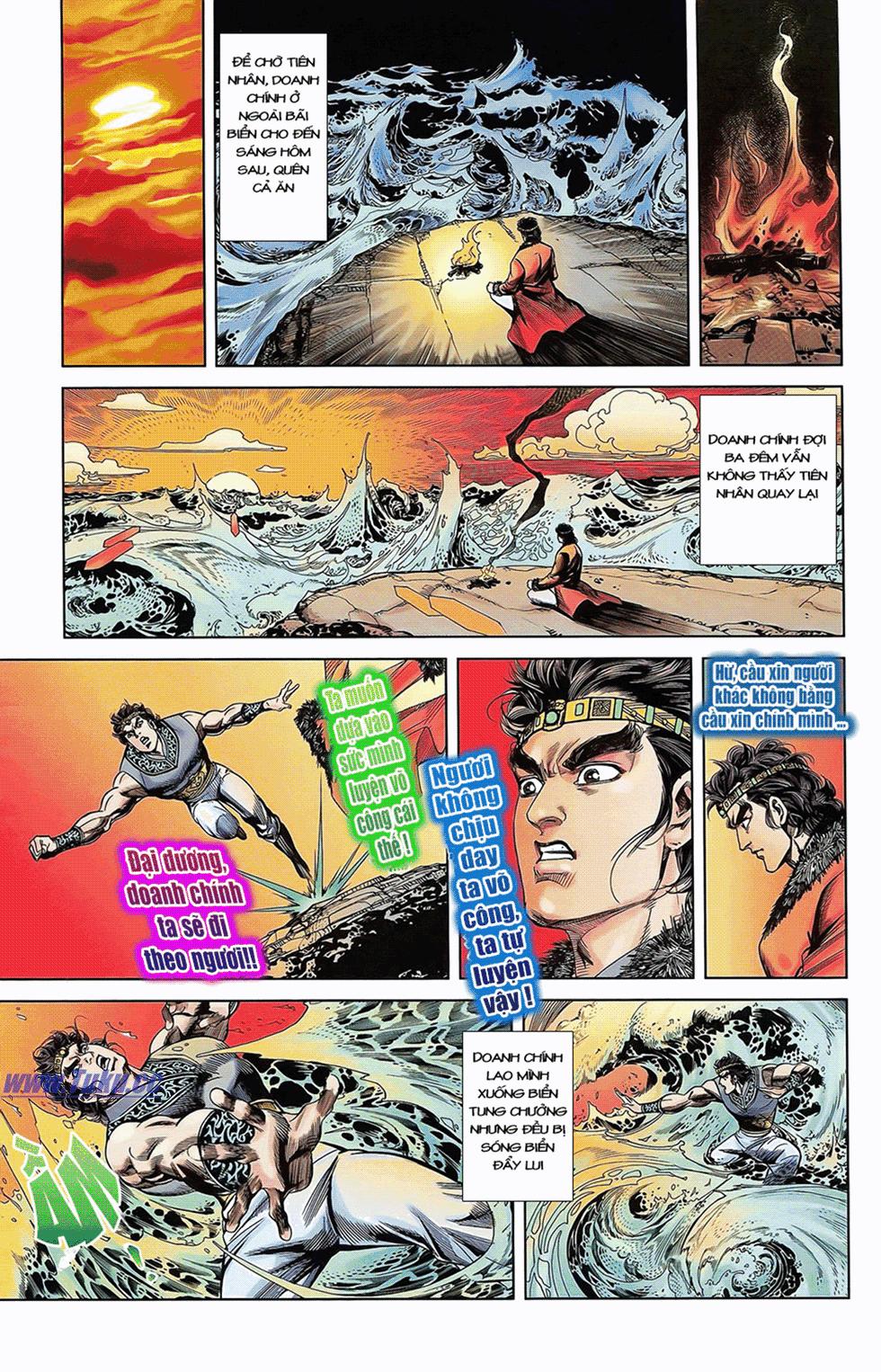 Tần Vương Doanh Chính chapter 6 trang 10