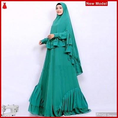 FHGS9083 Model Syari Salwa Tosca, Perempuan Pakaian Muslim Jersey BMG