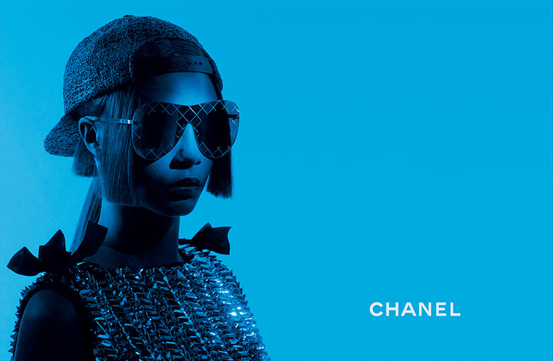 83f9ecf2ab2 Cara Delevingne stars for the Chanel Eyewear Spring 2016 Campaign