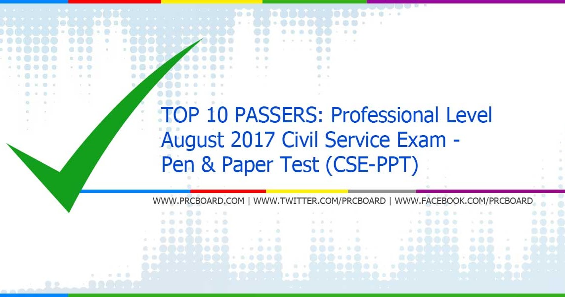 Civil service essay march 2017 result region 3