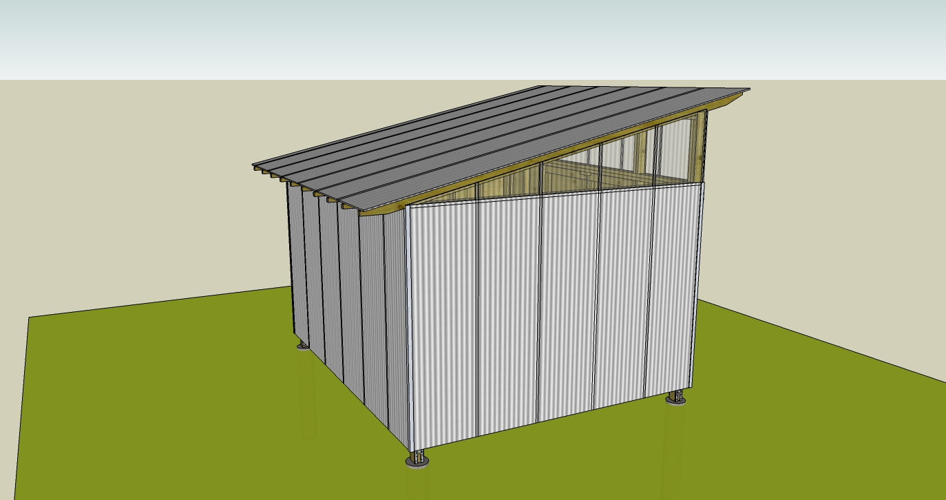 Ecclesia Domestica Design For A Storage Shed