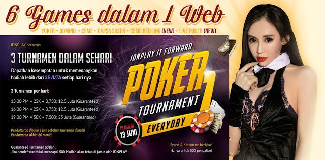 Turnamen Poker Online Agen Judi BandarGame.net