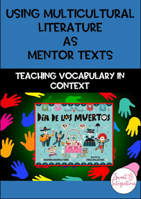 Using multicultural literature is a great way to bring diversity into your classroom while still working on engaging, rigorous content. Click to see how you can use a children's book with your elementary students to learn more about The Day of the Dead, or Día de los Muertos. You get ideas, activities, a FREE download, & more that will work perfectly with your 3rd, 4th, 5th, or 6th grade upper elementary students. Great for All Souls Day or any time of year. (third, fourth, fifth, sixth graders)