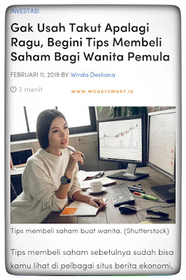 tips menabung saham bagi wanita pemula
