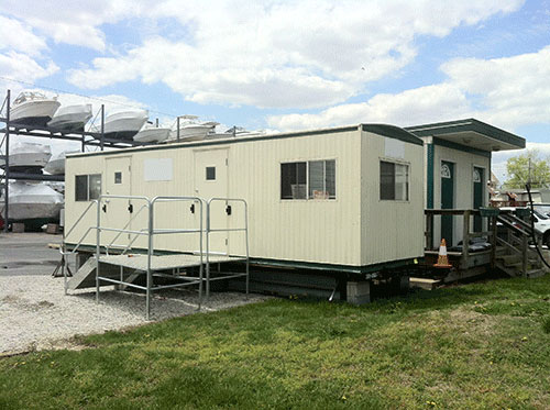Used Mobile Office Trailers For Sale In Florida - Mobile office trailer with bathroom