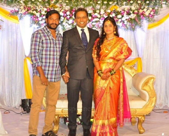 Comedian Harish Wedding Reception _27