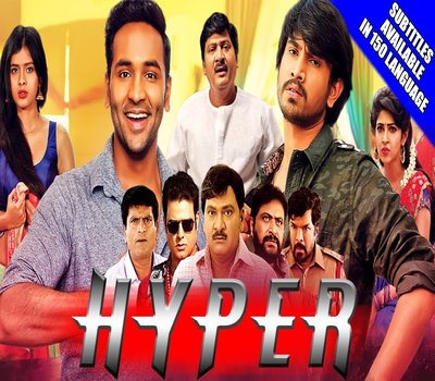Hyper (2018) Hindi Dubbed HDRip 300mb