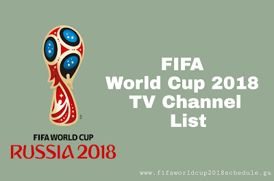 FIFA World Cup 2018 TV Channel