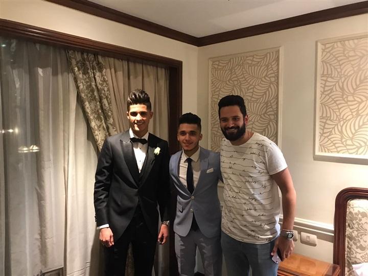 صور حفل زفاف احمد الشيخ لاعب الأهلى و حضور الكثير من لاعبى كرة القدم