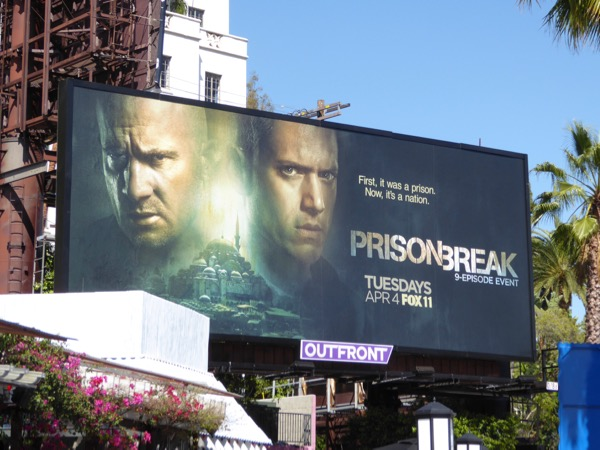 Prison Break miniseries revival billboard