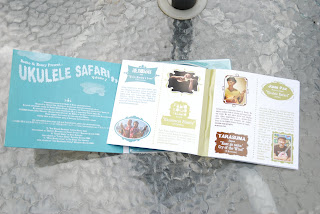ukulele safari cd booklet