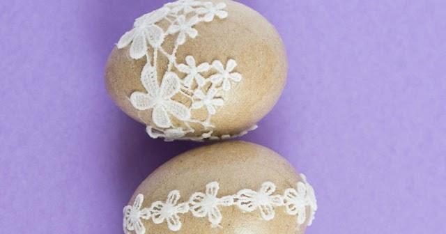 Brown Easter Egg Decorating