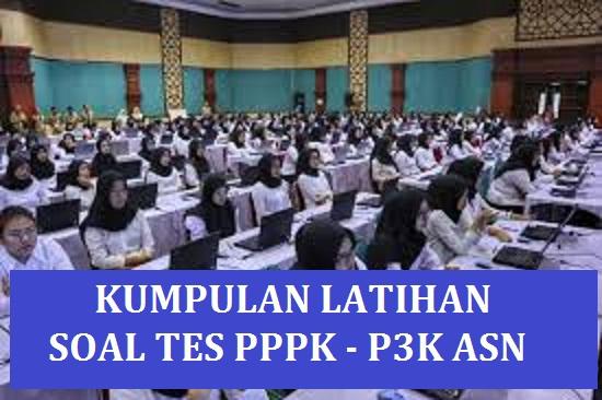 Contoh Soal Tes PPPK Guru 2021 - 2022