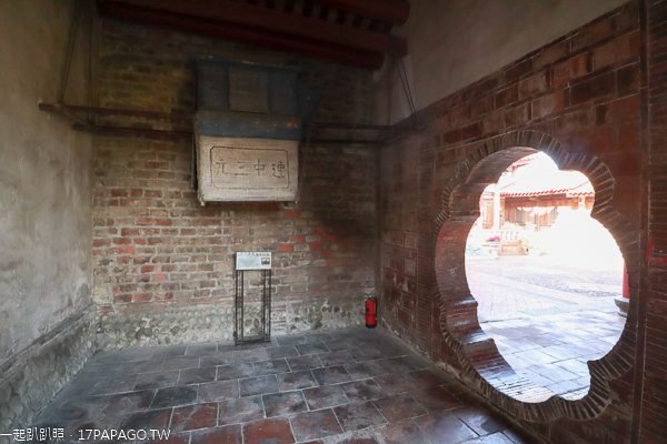 磺溪書院是大肚最古老的古蹟建築,考生必訪,春節還有花海賞心悅目