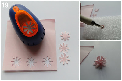 Tutorial Tarjeta Pop Up en CD día de la Madre - sello Hanglar