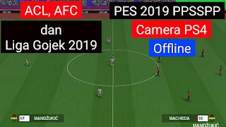 [Baru] PES 2019 PPSSPP Ukuran Kecil Offline Android | Super Update Club ACL, AFC, Liga Gojek 2019