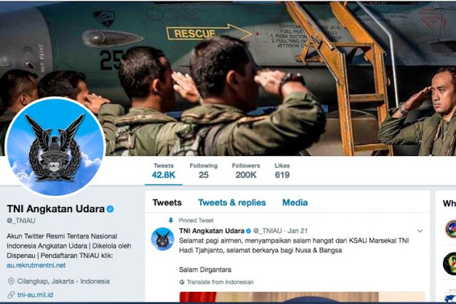 Setelah Ramai di Bully Netizen, TNI AU Tegaskan Tak Bermaksud Sanggah Pernyataan Panglima