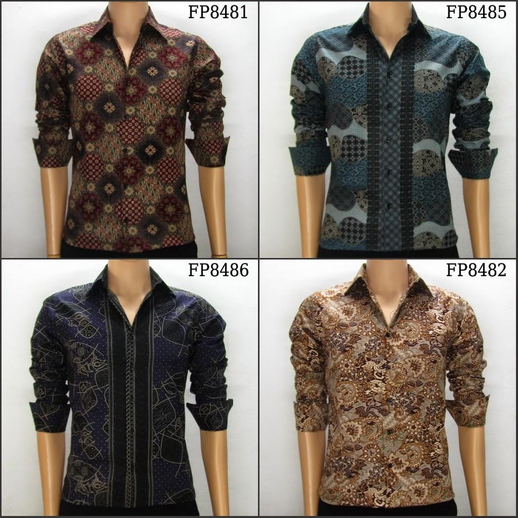 Gambar Baju Batik Kantor Pria: Foto Gambar Model Baju Batik Pria Danar Hadi Paling Trend