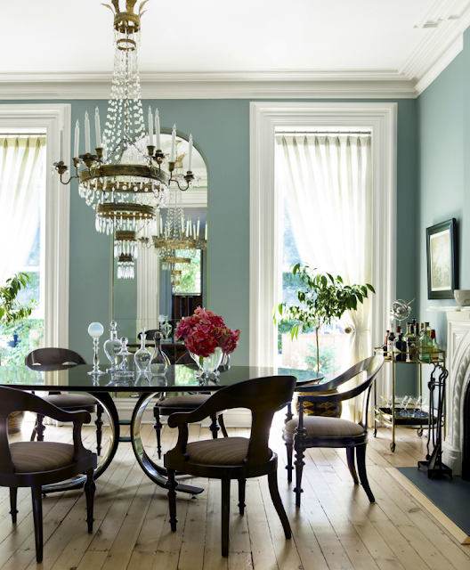 Dining Room Paint Schemes: Splendid Sass: HOUSE BEAUTIFUL FAVORITES