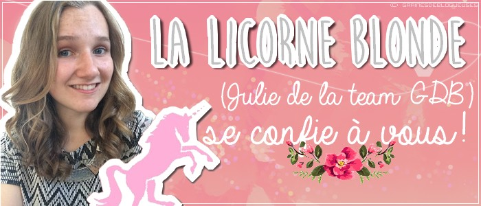 la licorne blonde interview
