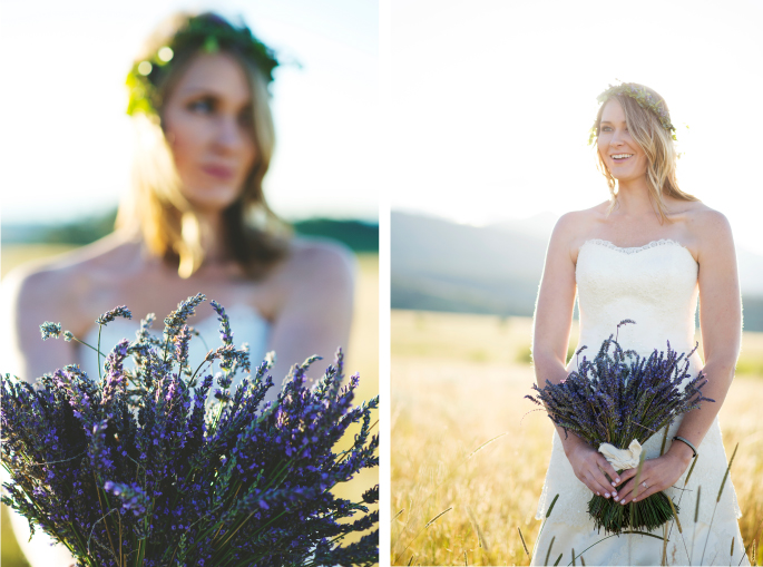 Photography: Macy Spencer Photography / Lavender / Flowers Wedding