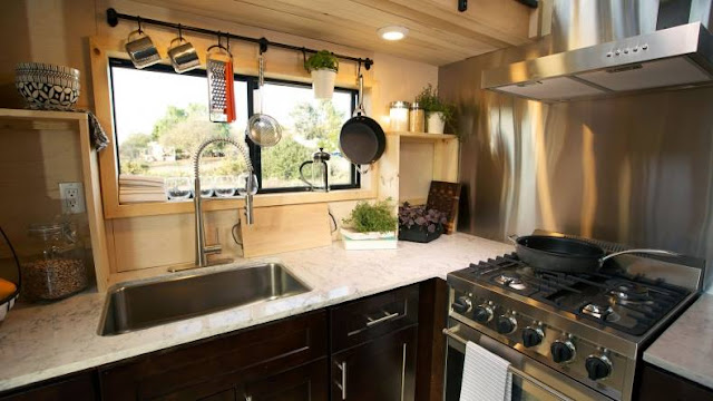 Survival tiny house, featured on Tiny House Nation
