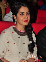 Raashi Khanna at Supreme Audio Launch-cover-photo
