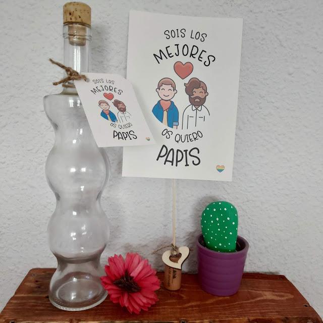 imprimibles para el dia del padre, etiquetas para personalizar regalos, láminas para colgar, carteles para mensajes, DIY.