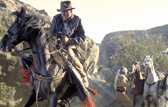 not the same horse used in rambo III and indiana jones and the last crusade