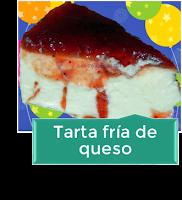 TARTA FR͍A DE QUESO